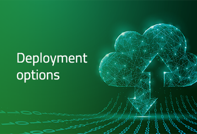 ADVANCE Deployment options,customize solutions to meet the demands of your workload
