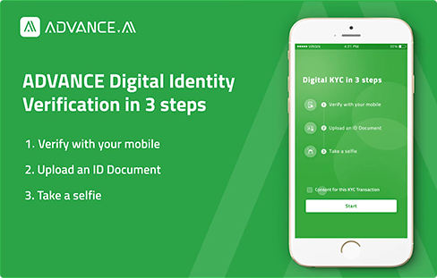 ADVANCE Digital Identity Verification is to improve the efficiency of the business and prevents identity fraud