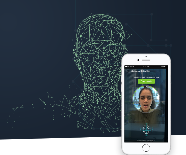 ADVANCE.AI Digital Identity Verification solution enables identity verification and fraud prevention remotely and digitally